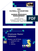Payroll accounting.  Multi-user, Multi-location, Multi-company Payroll module