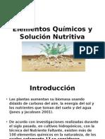 Nutrici n Mineral de Las Plantas