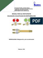 Manual de Soldadura Oxiacetileno en Refrigeracion