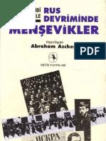 Rus Devriminde Menşevikler, Abraham Ascher