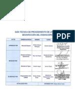 Guia Tecnica de Procedimientos de Limp Ieza y Desinfección Del Endoscopio