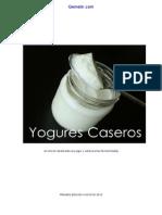 Libro Yogures Caseros