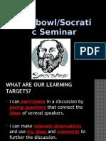 socratic seminar rules