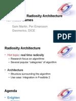 Siggraph realtime radiosity architecture
