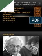 Diapos Frank Ghery