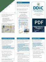 DDIC Pharma Services Brochure 2010