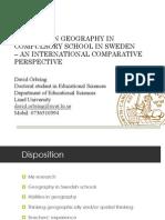 David Örbin- Lund-Human Geography