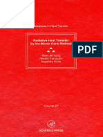 0120200279 - Academic Press - Advances in Heat Transfer, Volume 27 Radiative Heat Transfer by the Monte Carlo Method - (1995)