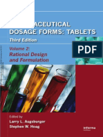 Pharmaceutical Dosage Forms - Tablets (Volume 2)
