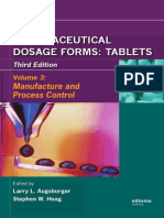 Pharmaceutical Dosage Forms - Tablets (Volume 3)