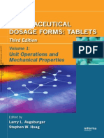 Pharmaceutical Dosage Forms - Tablets (Volume 1)