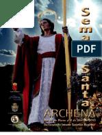 Programa Semana Santa Archena 2010