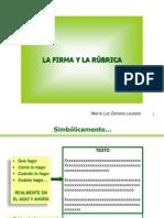 La Firma y la Rúbrica.pdf