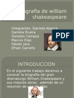 Biografia de William Shakeaspeare