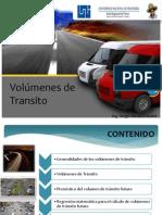 volúmenes de transito y trasnporte