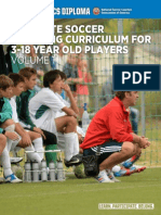 Complete Soccer Coaching Curriculum for 3-18 Year Old Players - Pages