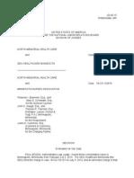 Administrative Law Judges Decision (North Memorial)