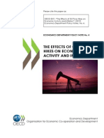 The Effects of Oil Price Hikes on Economic