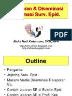 Slide III - Pelaporan dan Diseminasi Info Surv. Epid.