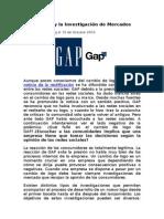 El Caso GAP y La Investigación de Mercados