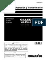 WA430-6 O&M