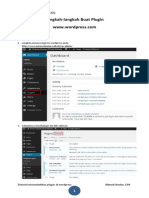 Menambahkan Plugin Di Wordpress