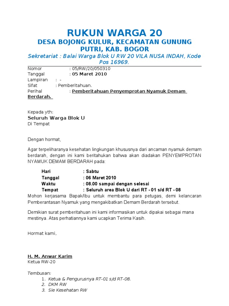 100205 05 Surat Semprotan Dbd