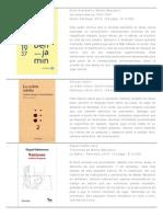 Envío 130_Catálogo Libros