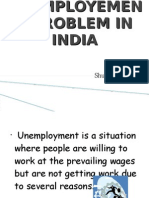 Unemployement Problem in India