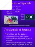 The Sounds of Spanish