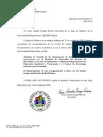 AUTORIZA CREACION DEPTO. DE ARTE, TECNOLOGIA E INNOVACIONES