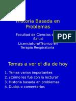 Clase 3- Historia Orientada a Problemas