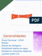 ACIDOS CARBOXILICOS2015