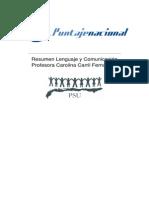 resumen lenguaje