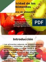 Toxicidad en Alimentos