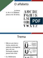 Novo Acordo Ortografico Aula 02 Novo Acordo Ortografico II