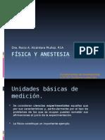 FISICA Y ANESTESIOLOGIA