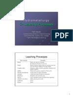 5. Leaching Processes