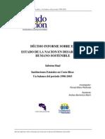 Alfaro_2004 Décimo Informe Sobre El Estado de La Nación