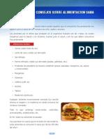 Consejos Sobre Alimentacion Sana