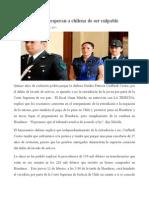 15 Años de Cárcel Esperan a Chilena de Ser Culpable