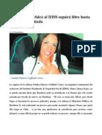 Chilena Que Defalcó Al IHSS Seguirá Libre Hasta Que Sea Extraditada