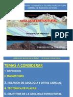 Presentación Geología Estructural
