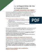Capitulo 9 Agonistas y Antagonistas de Los Receptores Muscarinicos