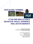 How Global Warming and The Pine Beetle Could Devestate British Columbia's Real Estate Market