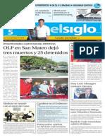 Edición Impresa El Siglo 05-09-2015