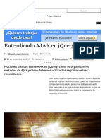 Entendiendo AJAX en JQuery (Desarrolloweb)