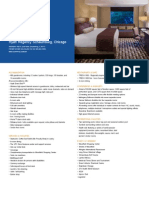 Hyatt Regency Schaumburg Fact Sheet Floorplans Capacity Chart 2014 (1)