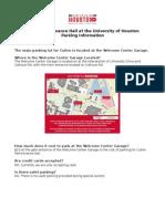 CPH Parking Information