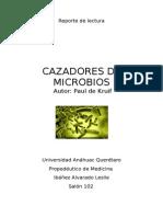 Reporte de Lectura cazadores de microbios